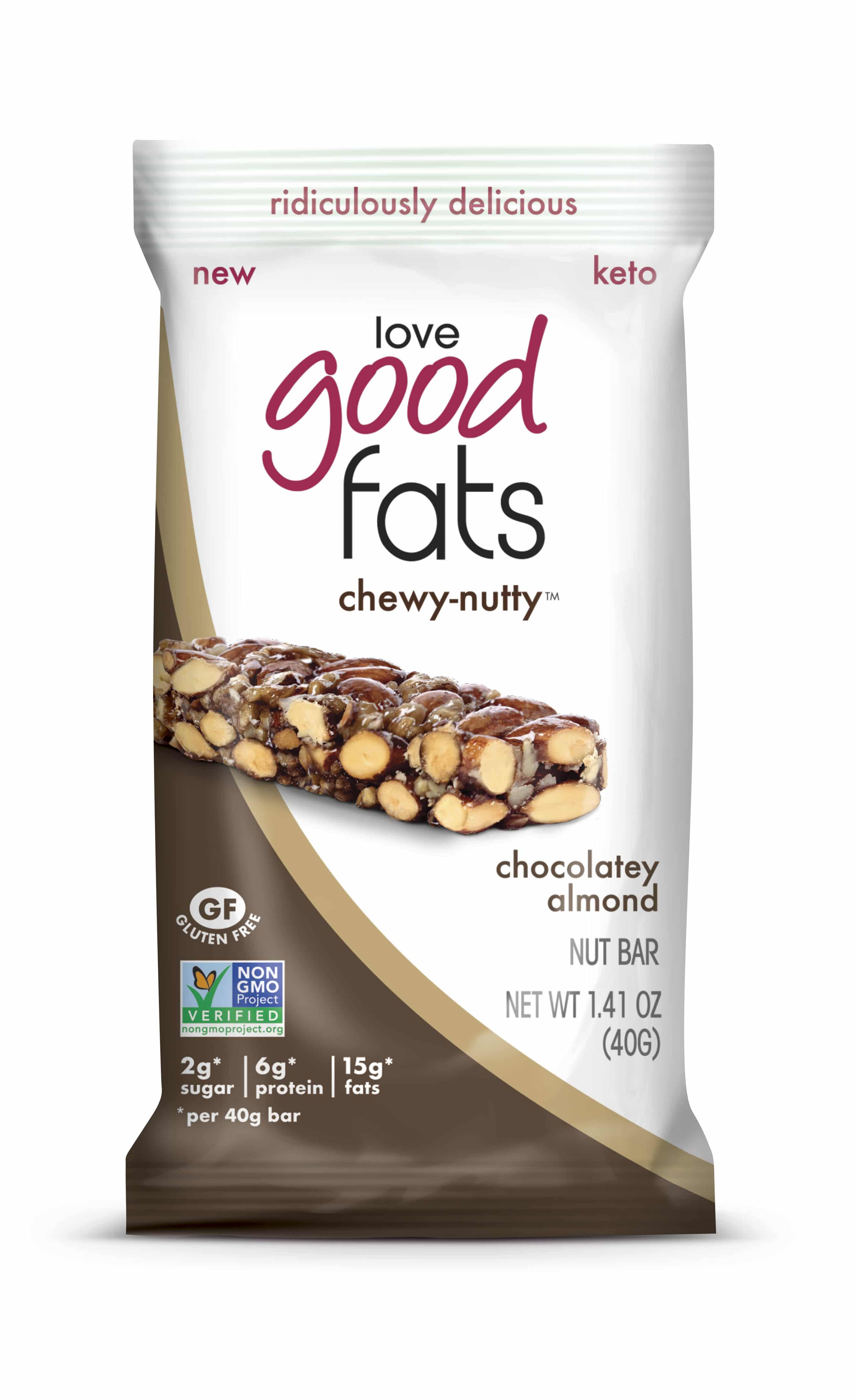 Love Good Fats to Debut New White Chocolate Truffle and Chewy Nutty Bars