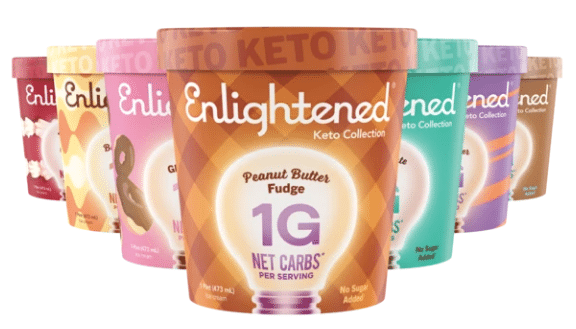 Enlightened Ice Cream Debuts Keto Collection