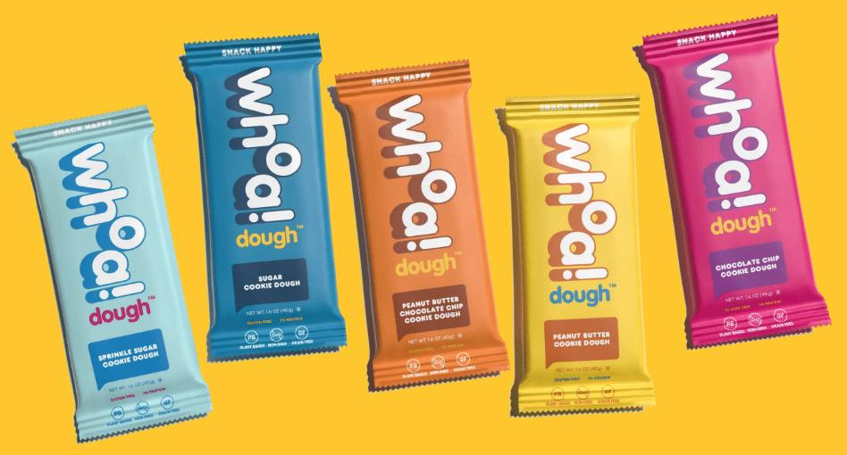 Whoa Dough Introduces Cookie Dough Bars