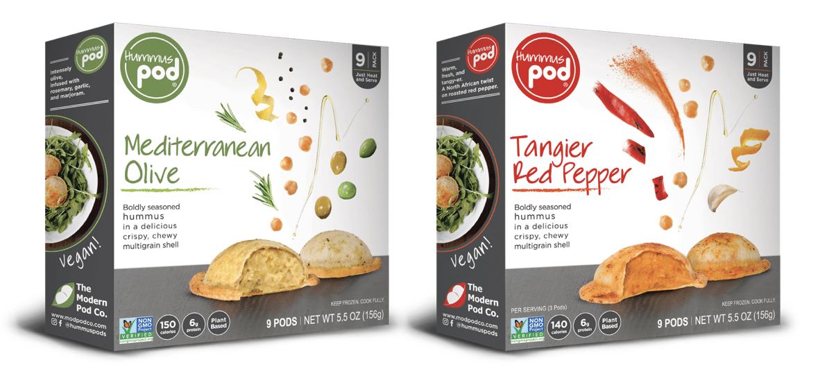 Hummus Pods Adds New Retailers, New Flavors