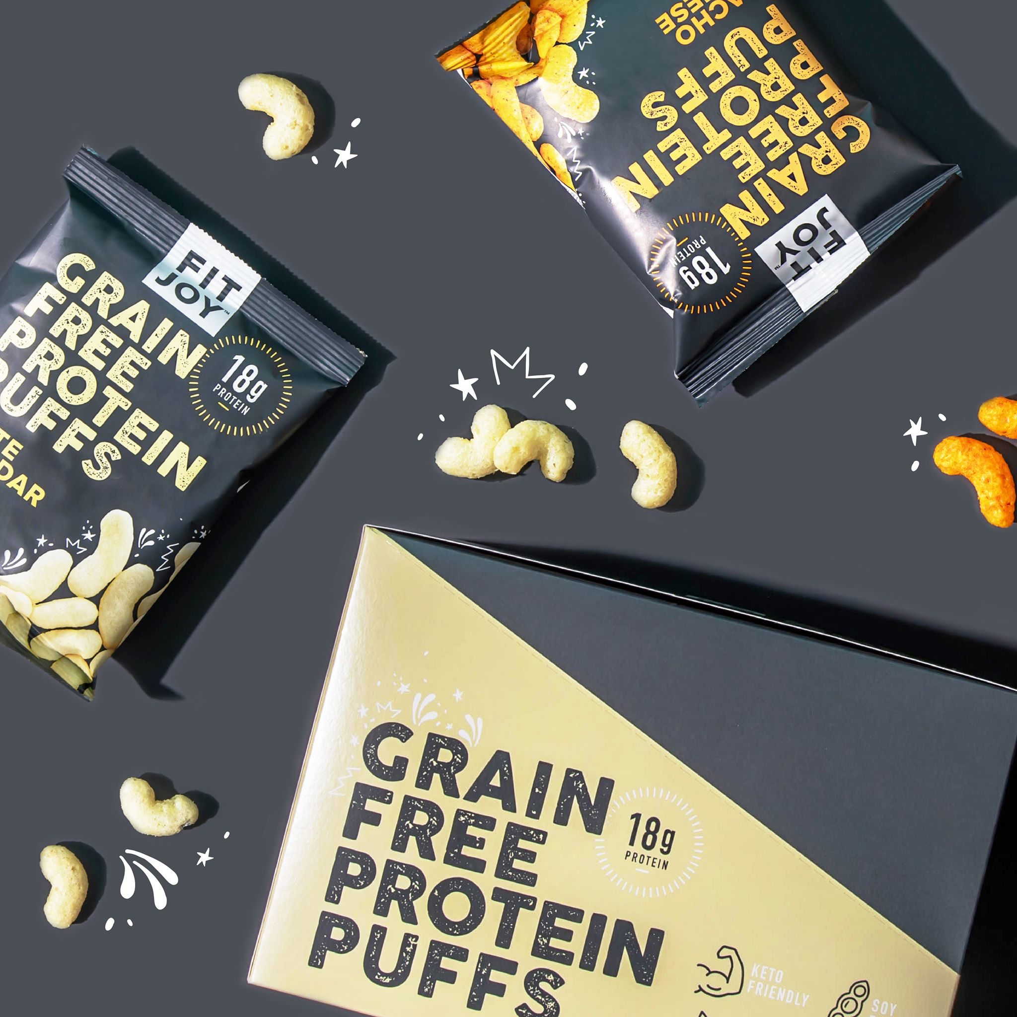 FitJoy Releases High Protein, Low Carb Snack Puffs
