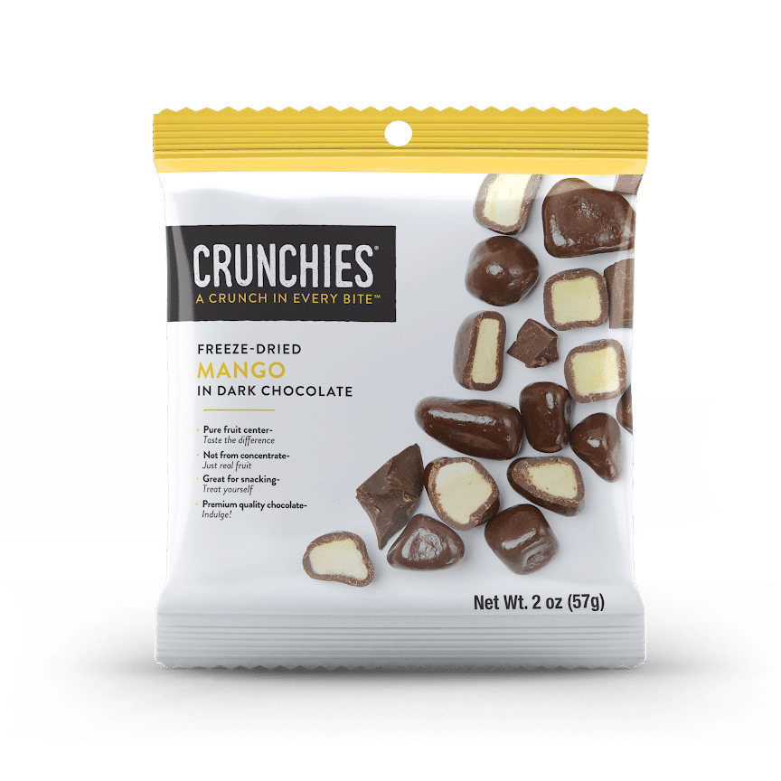 Crunchies Debuts Single-Serve Chocolate Covered Freeze-Dried Fruit