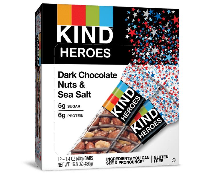 KIND Launches Limited-Edition HEROES Bar