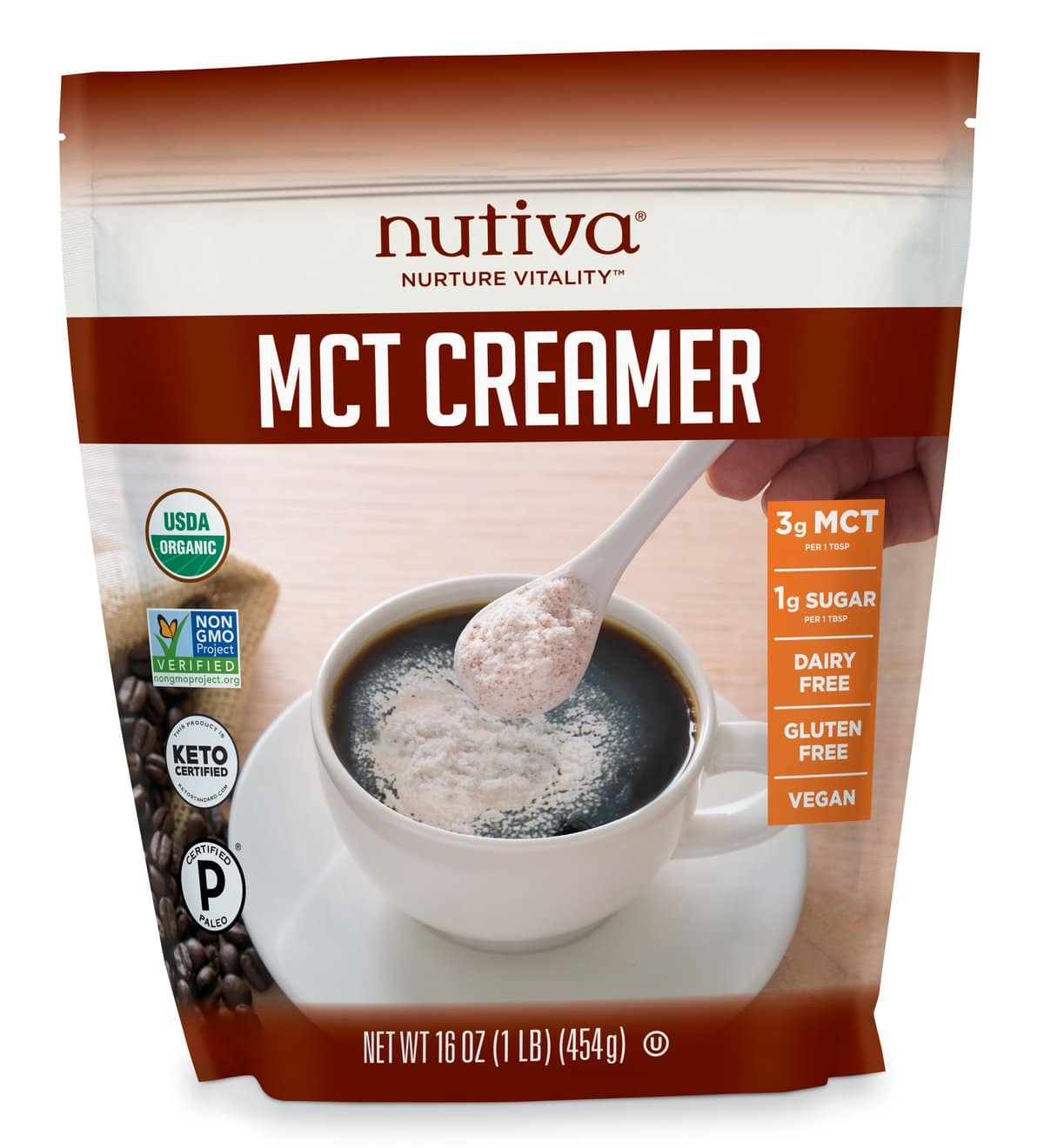 Nutiva Launches Organic MCT Creamer