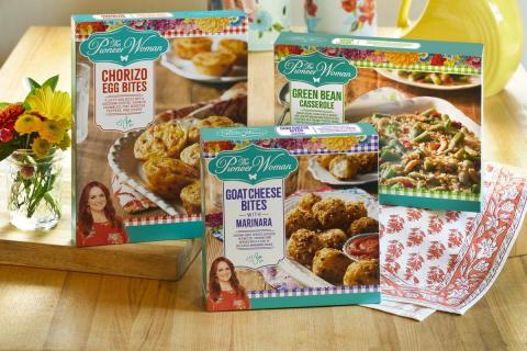 The Pioneer Woman Adds New Frozen Breakfasts, Sides and Appetizers