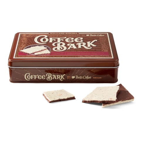 Williams Sonoma and Peet's Coffee Launch New Coffee Bark