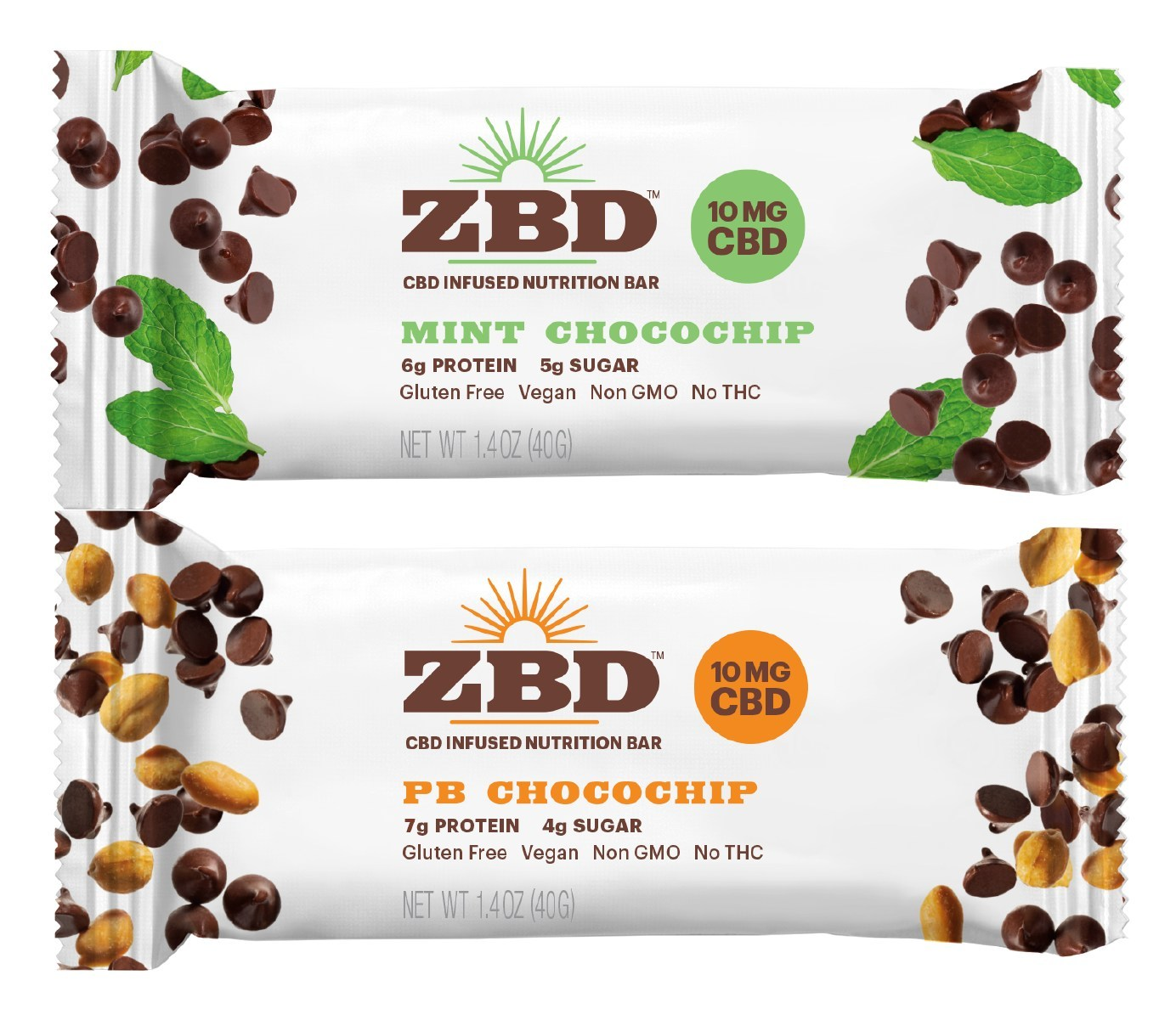 ZBD Health Announces Launch of CBD-Infused Nutrition Bars