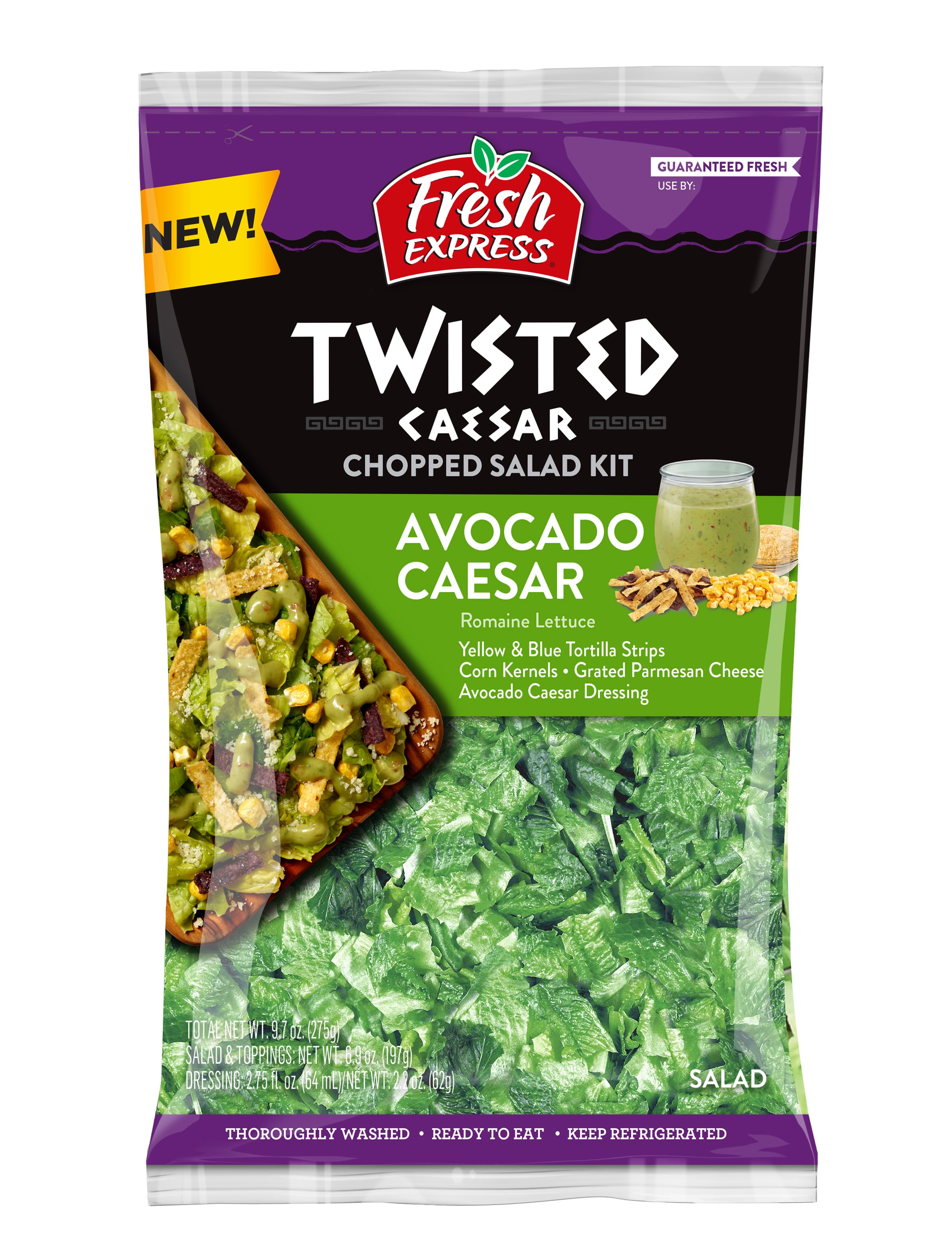 Fresh Express Launches New Chopped Salad Kit Flavors