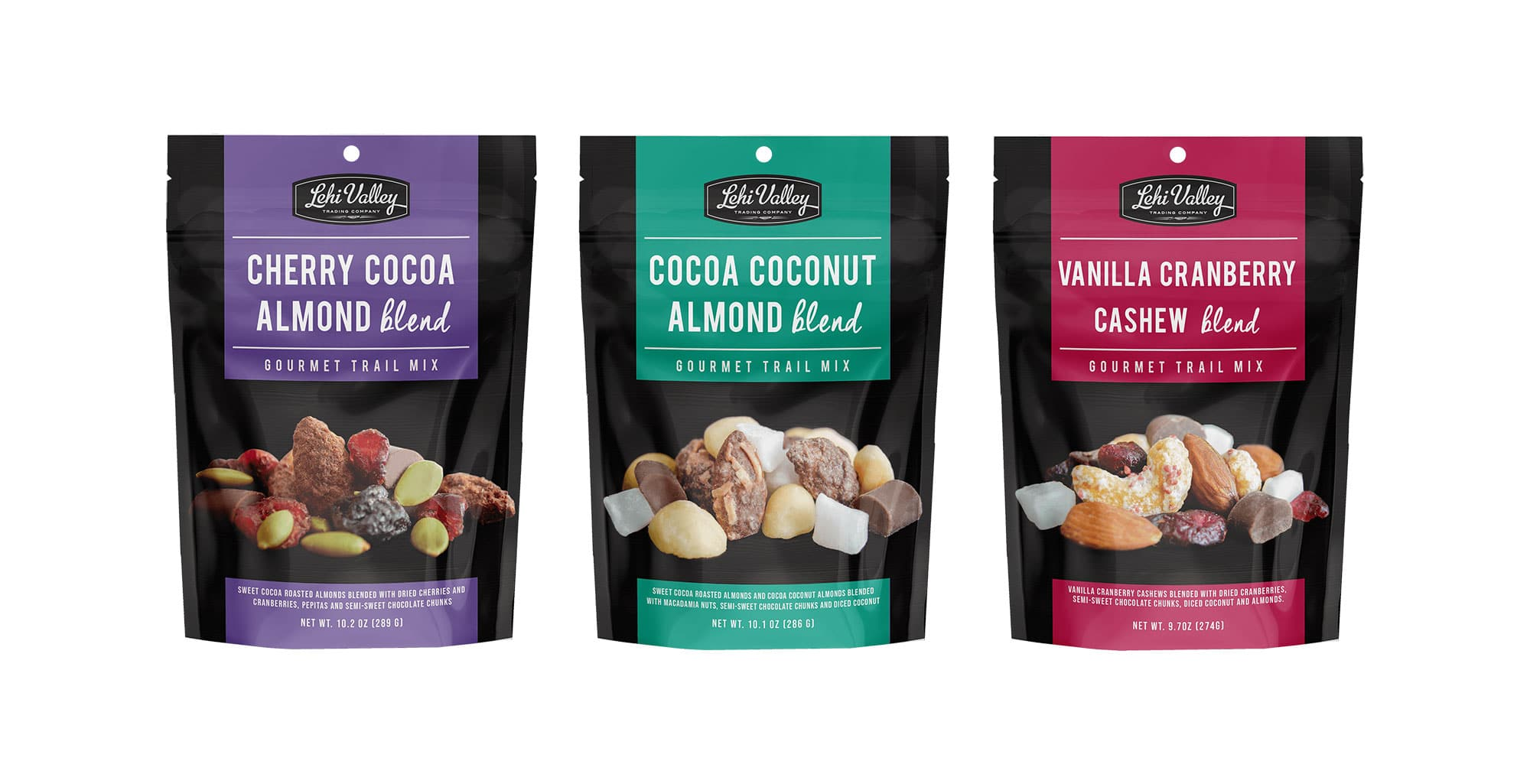 Lehi Valley Trading Company Introduces New Trail Mixes and Gourmet Blends Snacks