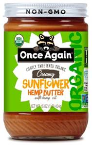 Once Again Launches Sunflower Hemp Butter
