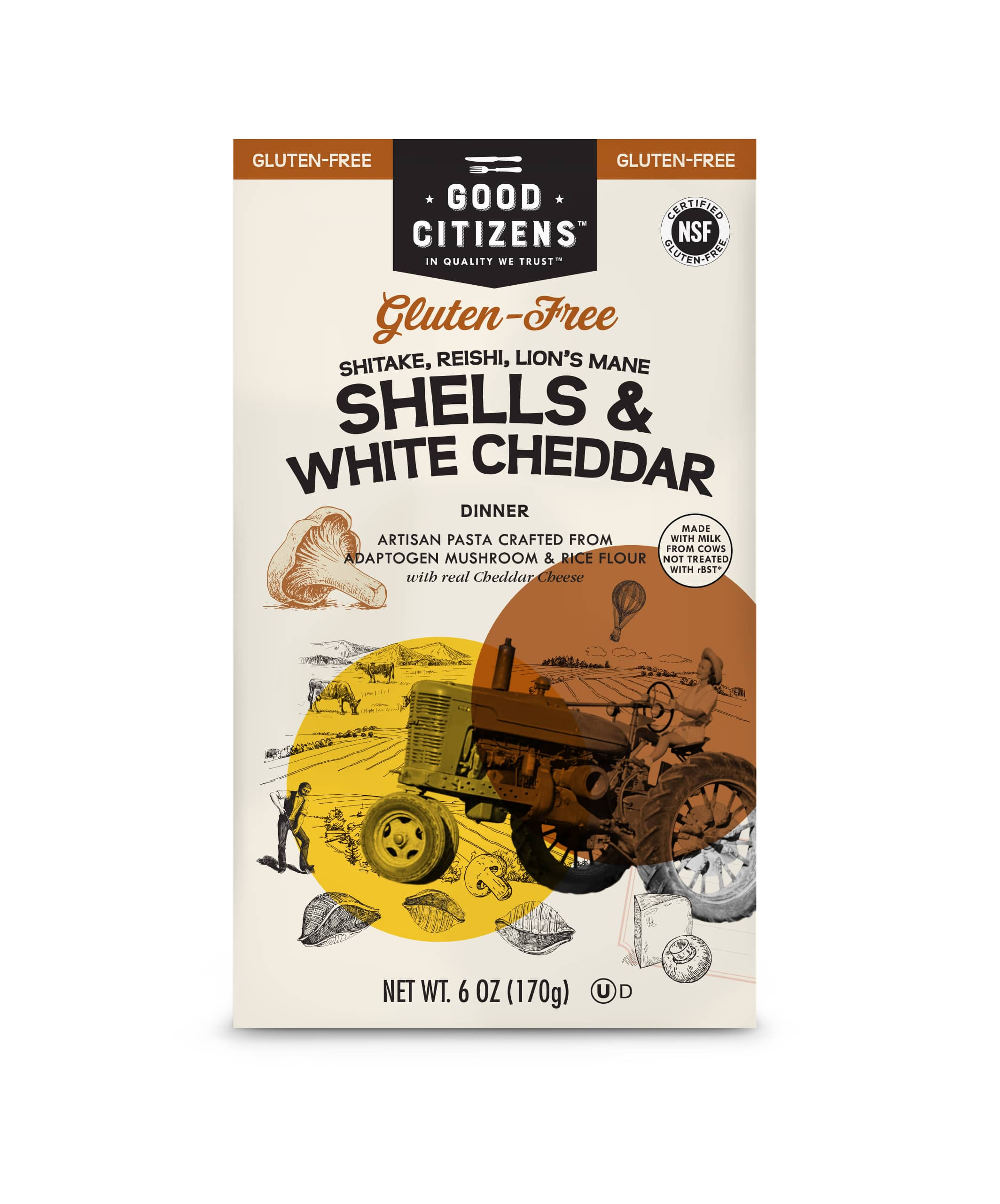 Good Citizens Expands Line of Gluten-Free Boxed Mac & Cheese