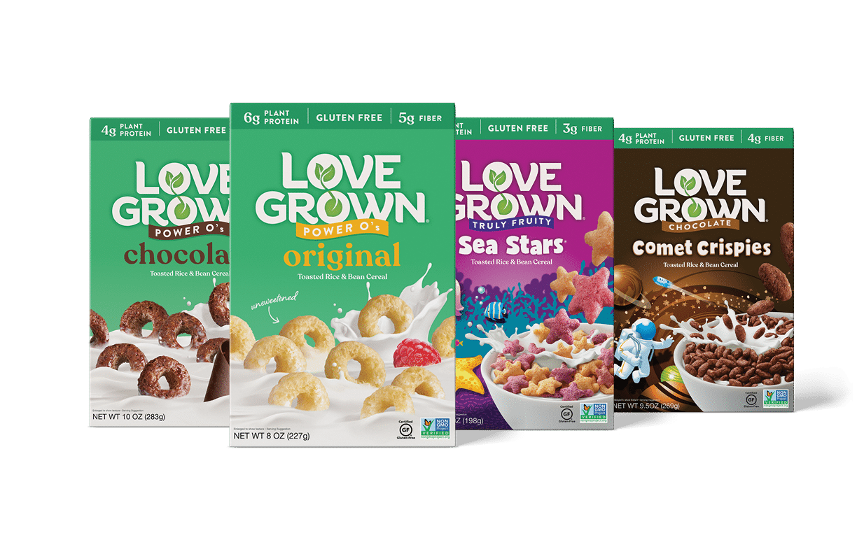 Love Grown Unveils New Look for Cereal and Granola