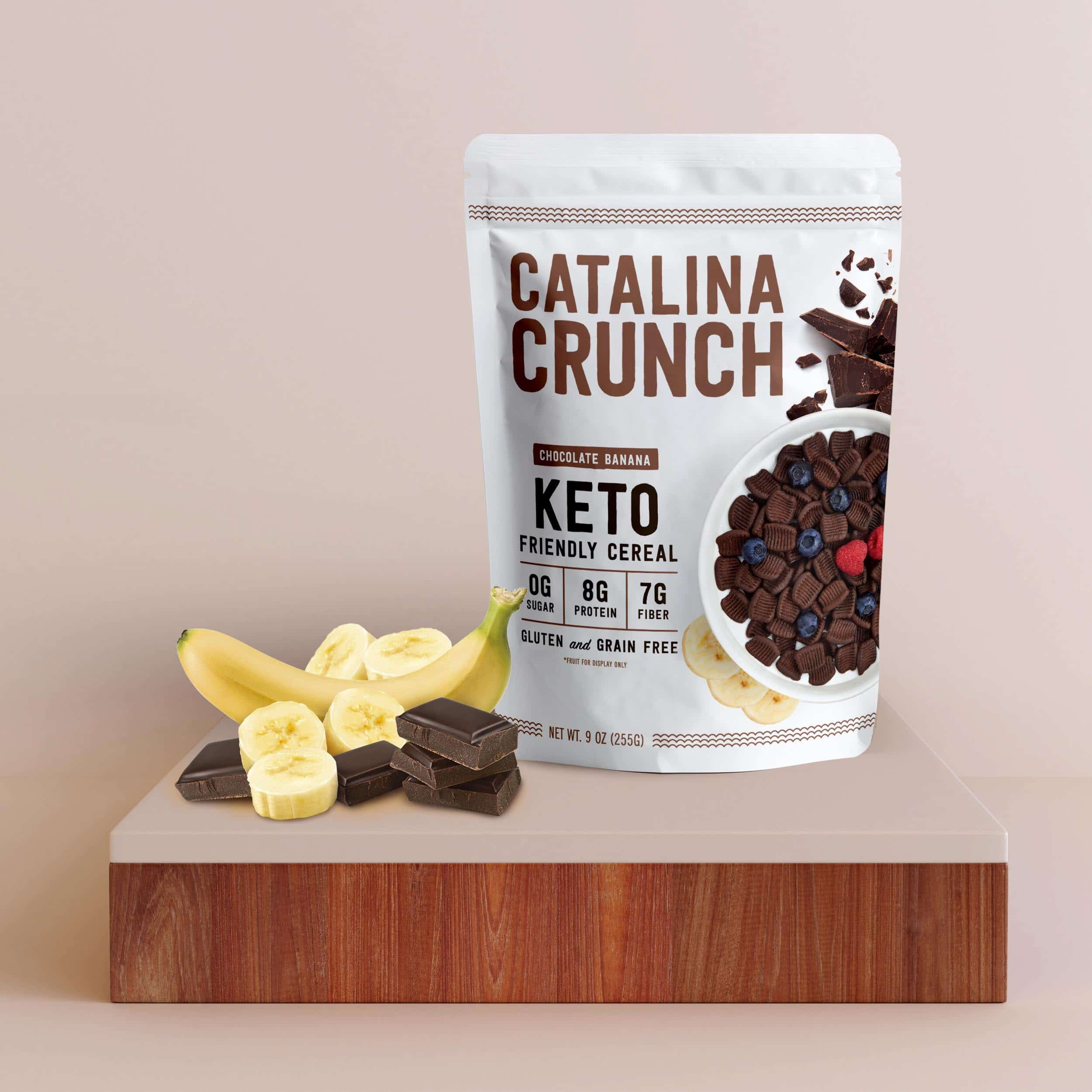 Catalina Crunch Launches Chocolate Banana Cereal