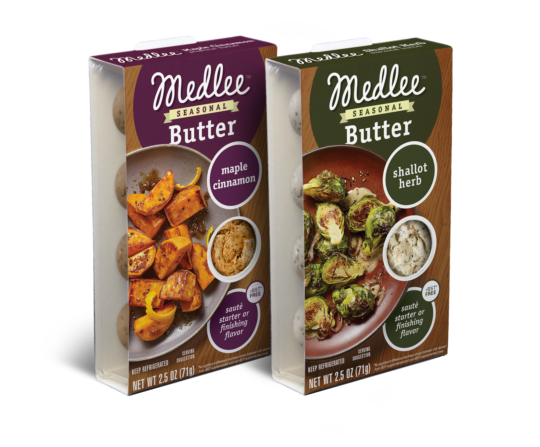 Medlee Foods Launches Two Seasonal Butter Flavors