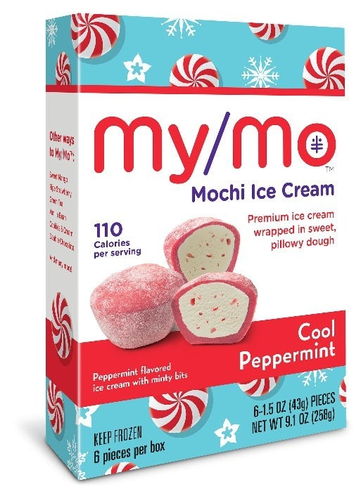 My/Mo Mochi Ice Cream Releases Cool Peppermint Flavor