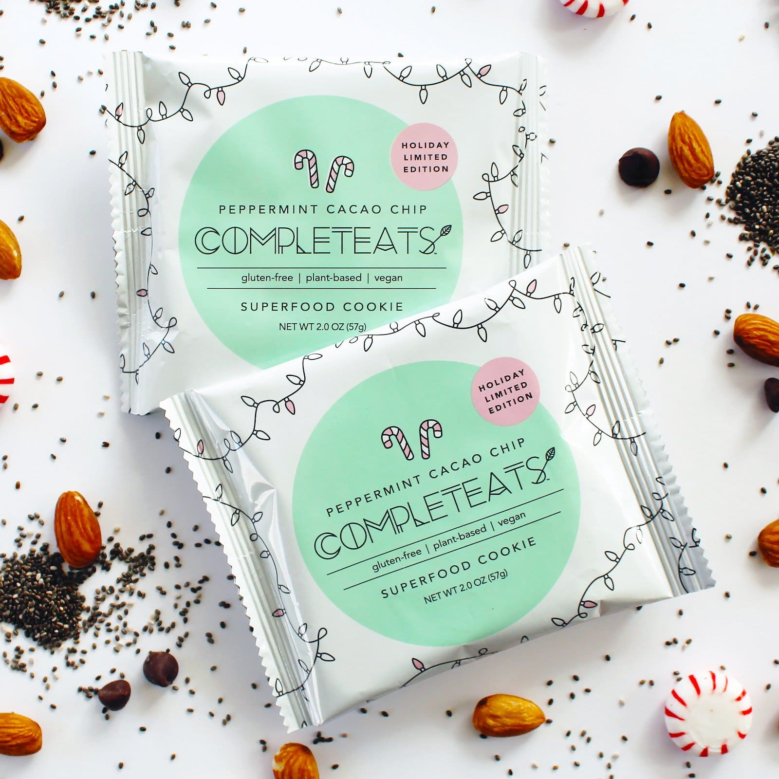 CompletEats Releases Limited Edition Peppermint Cacao Cookie