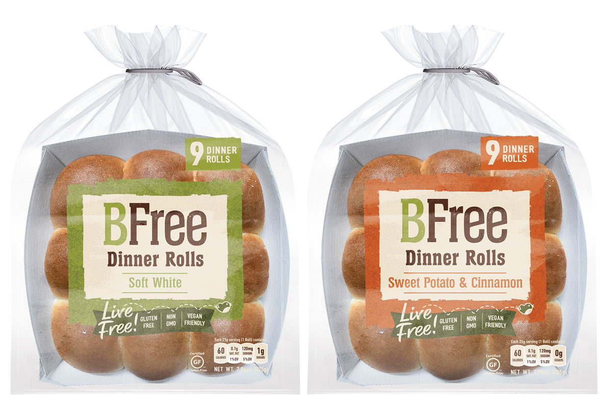 BFree Releases Two Varieties of Dinner Rolls for the Holidays