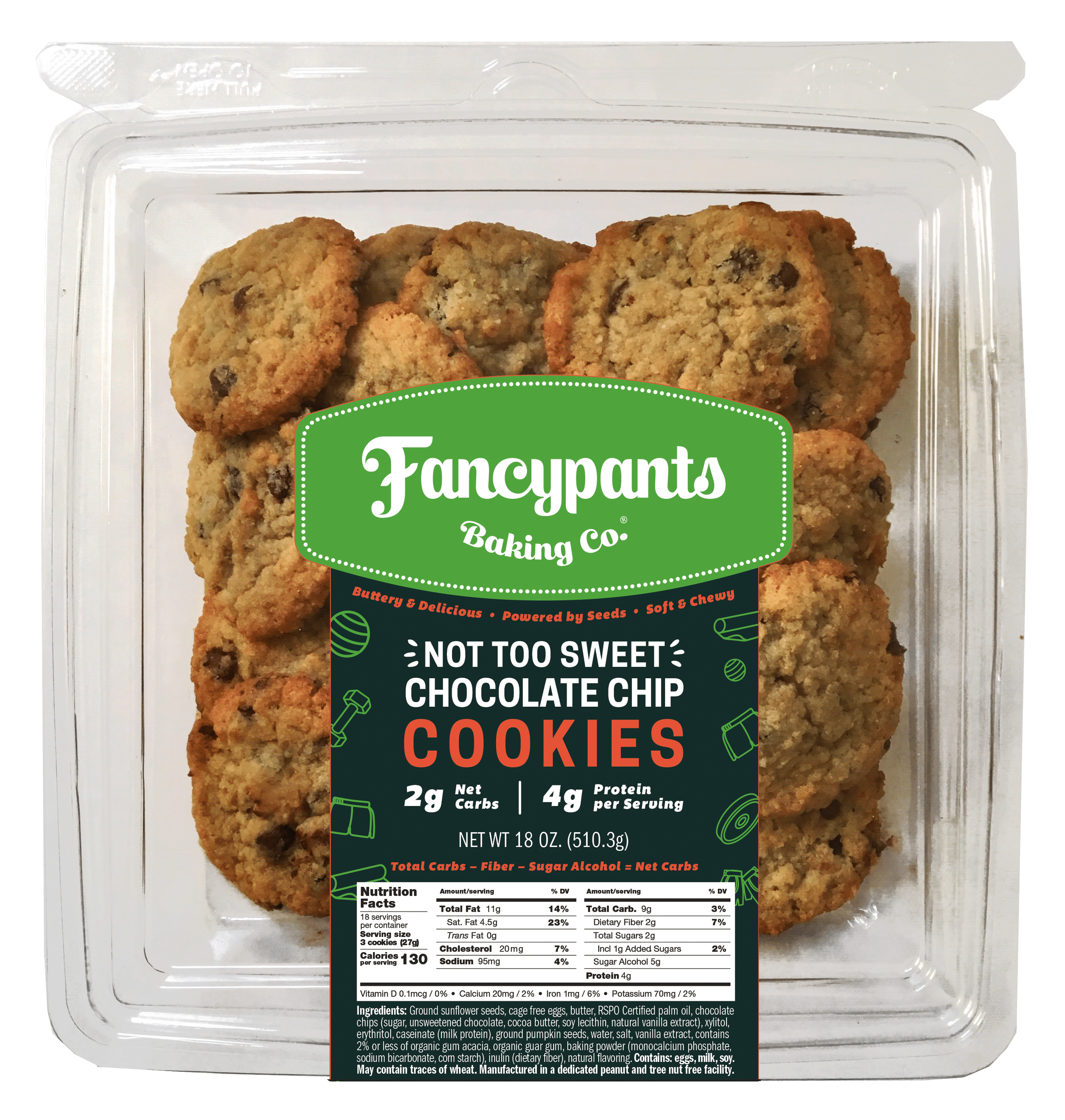 Fancypants Baking Co. to Launch New Line of Keto-Friendly Cookies at Winter Fancy Food Show