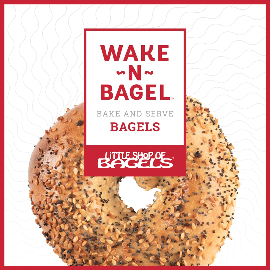 Wake-N-Bagel Launches New Thaw and Bake Frozen Line at Winter Fancy Food Show