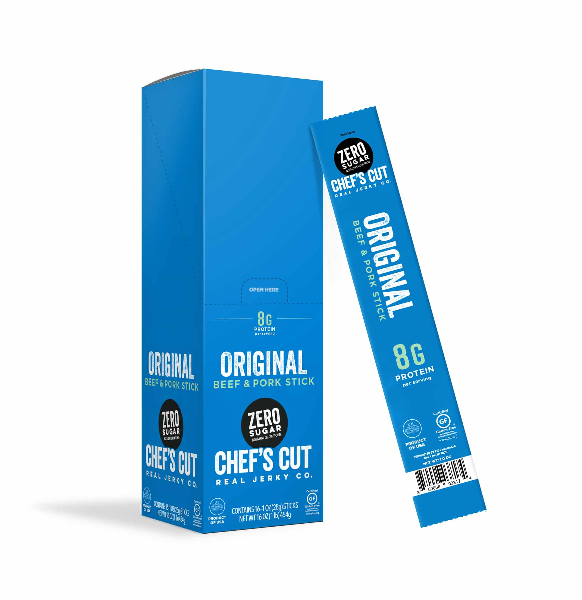 Chef's Cut Real Jerky Co. Unveils New Zero Sugar Meat Stick at Winter Fancy Food Show