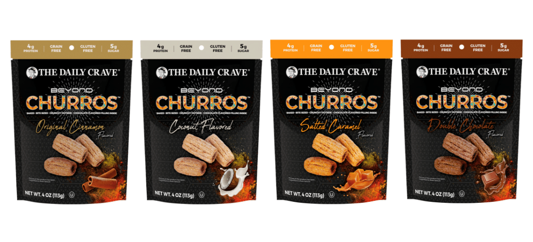 The Daily Crave Expands into New Snack Category With Beyond Churros