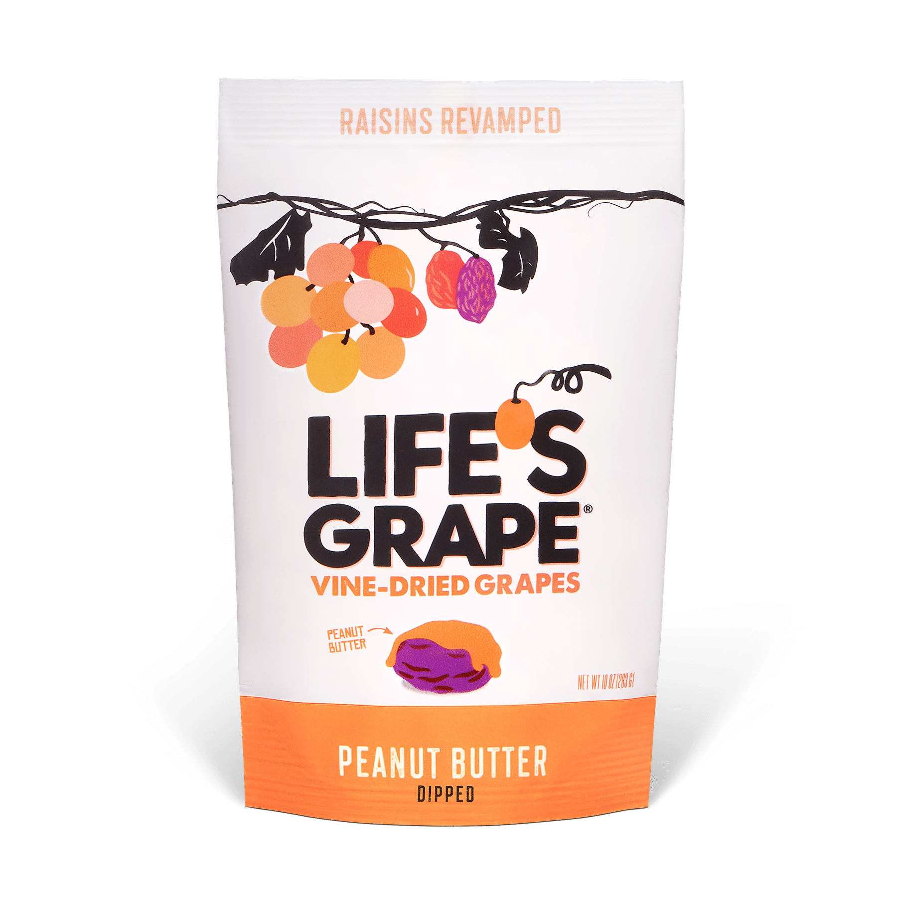 Life's Grape Launches New Peanut Butter Dipped Vine-Dried Grapes