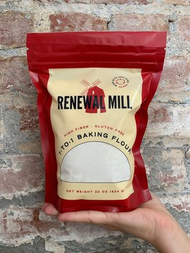 Renewal Mill Debuts 1-To-1 Gluten-Free Baking Flour