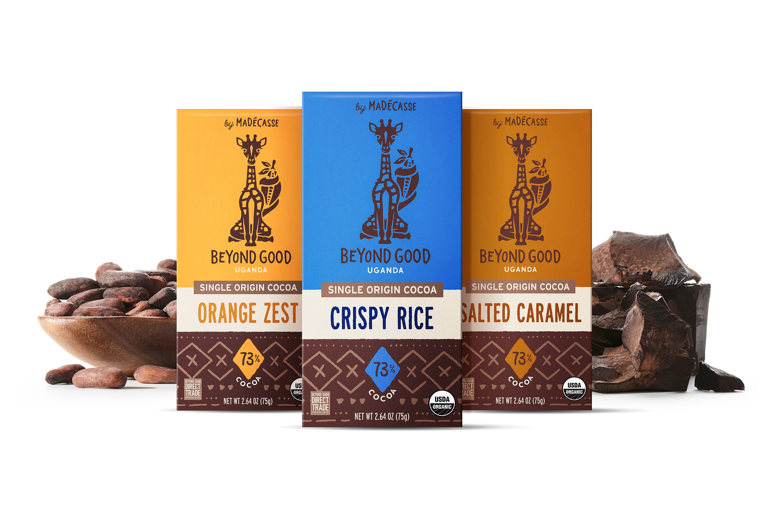 Beyond Good Launches Three New Chocolate Bars