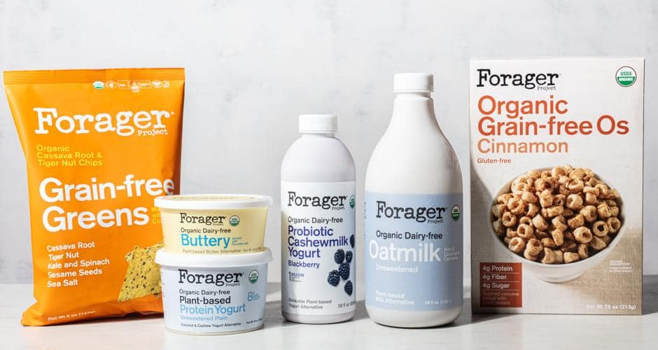 Forager Project Launches Six New Plant-Based Products