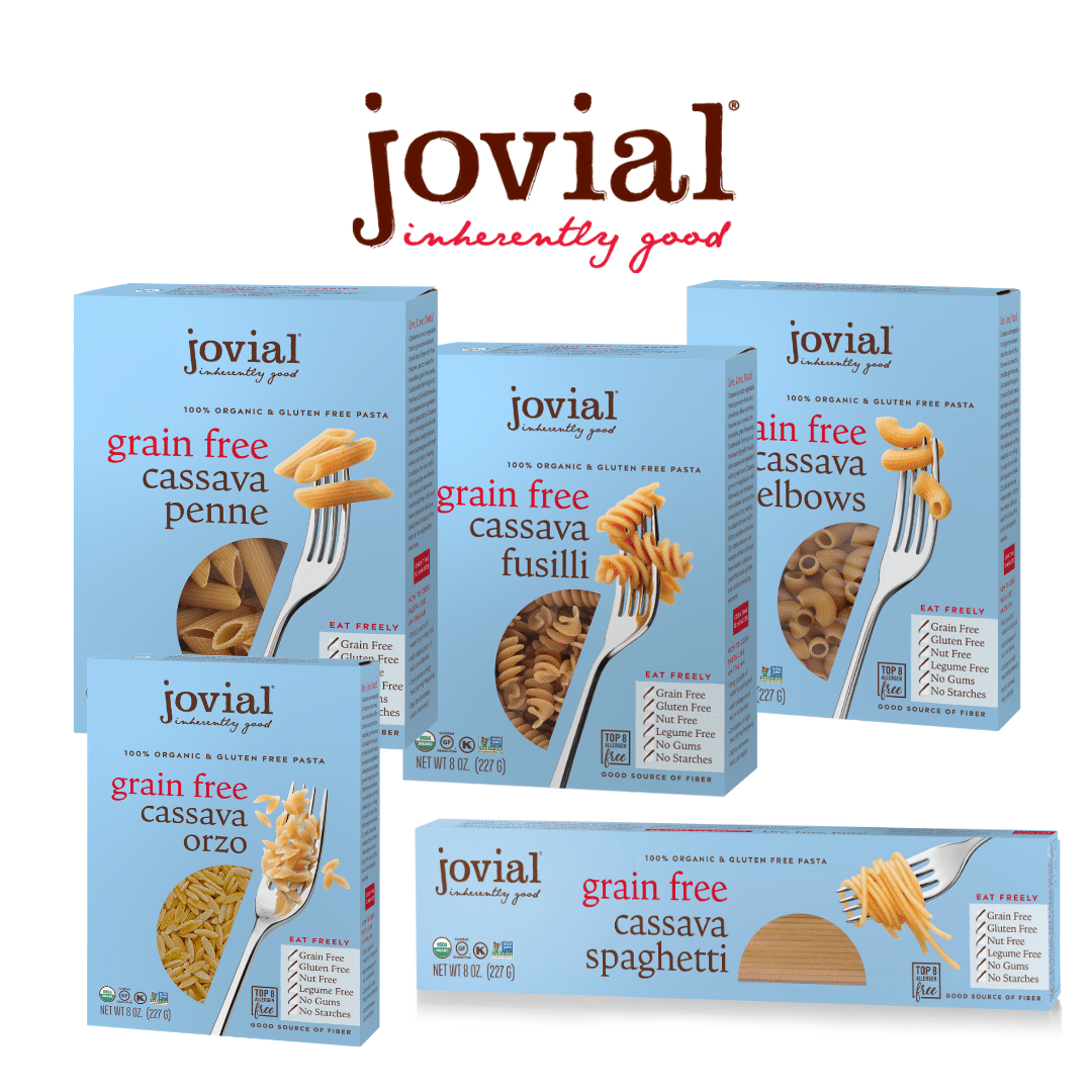 Jovial Foods, Inc. Launches Grain Free Cassava Pasta