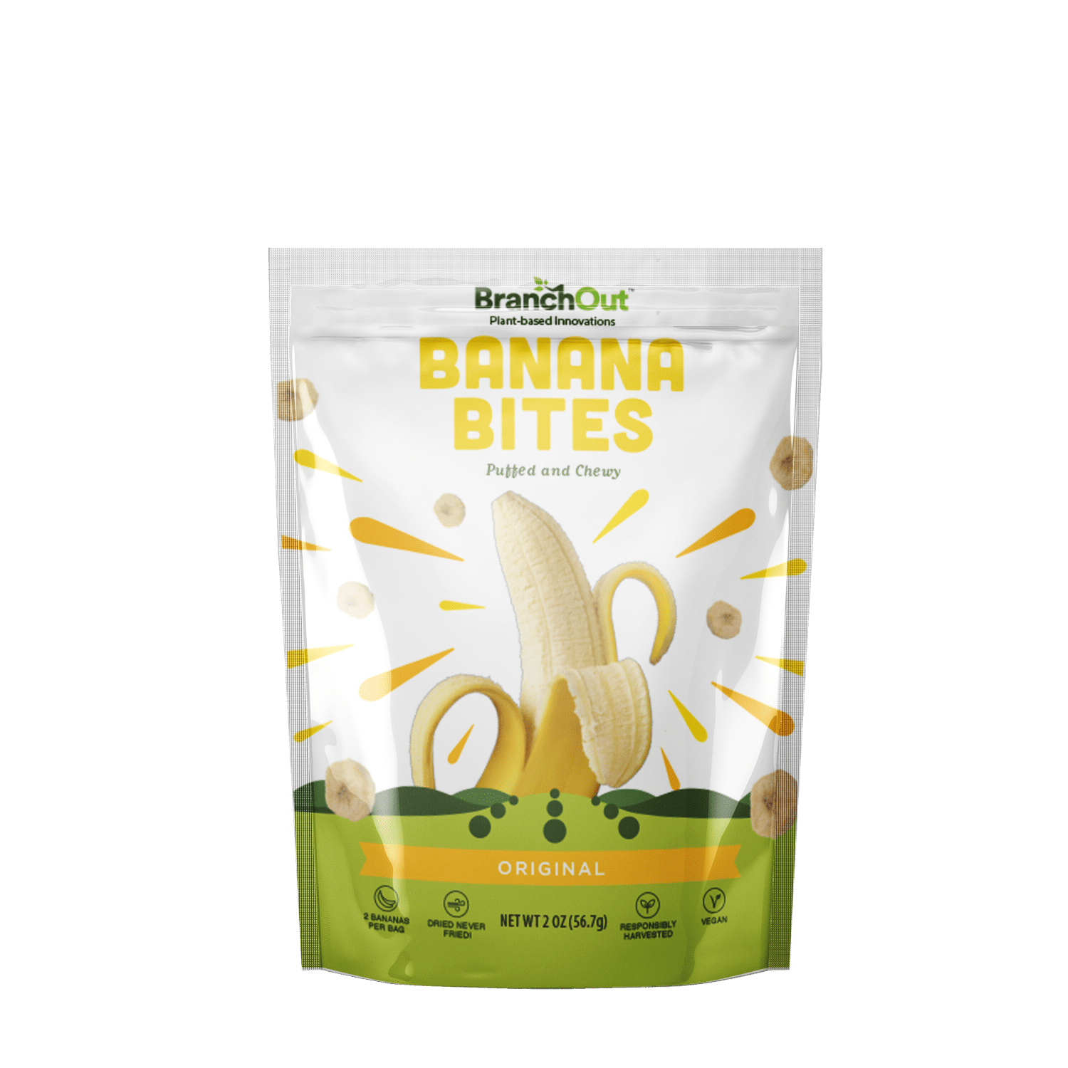 BranchOut to Launch Avocado Chips, Banana Bites at Expo West