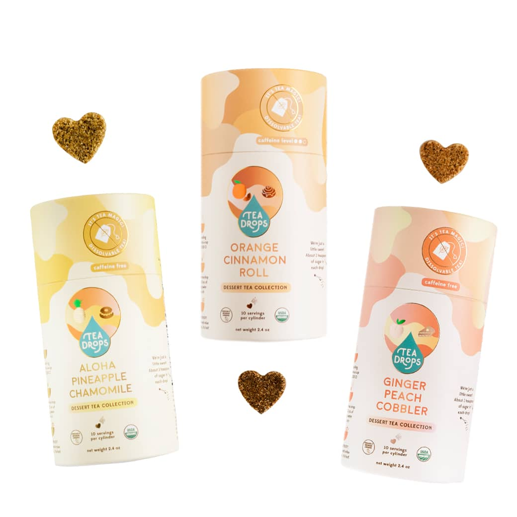 Tea Drops Adds Dessert Tea Collection as Core Offering