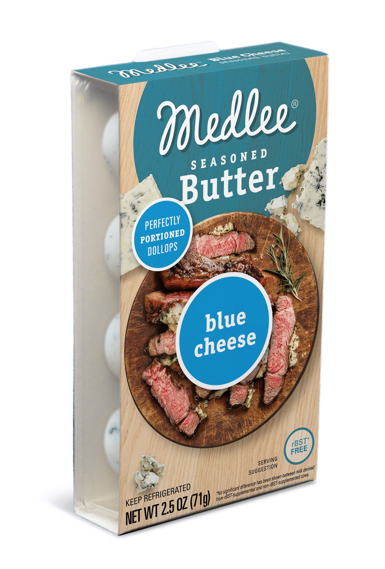 Medlee Foods Launches Blue Cheese Seasoned Butter