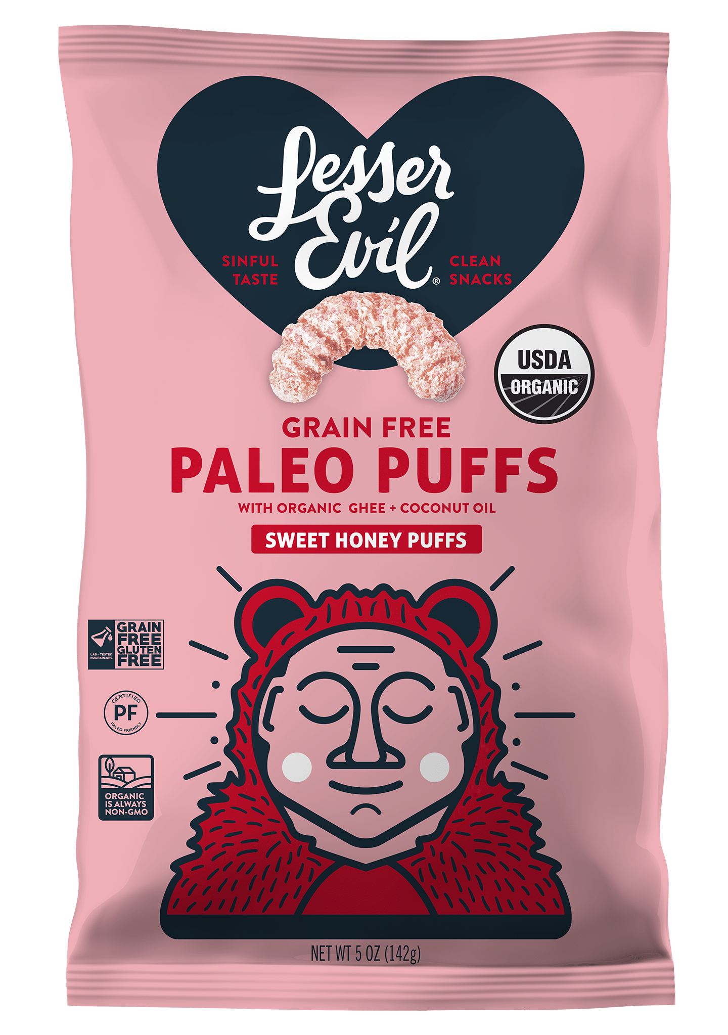 LesserEvil Introduces First Ever Seasonal Products with Valentine's Popcorn & Puffs