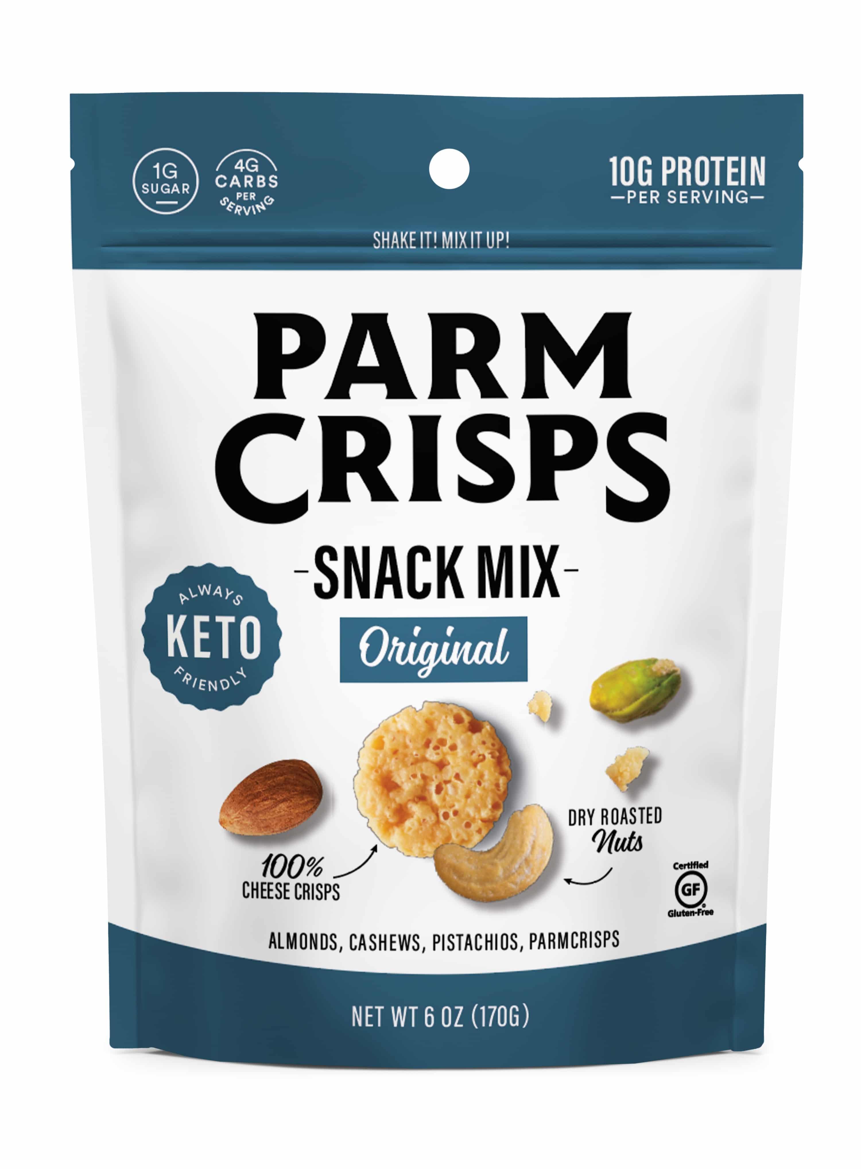 ParmCrisps Announces Snack Mixes