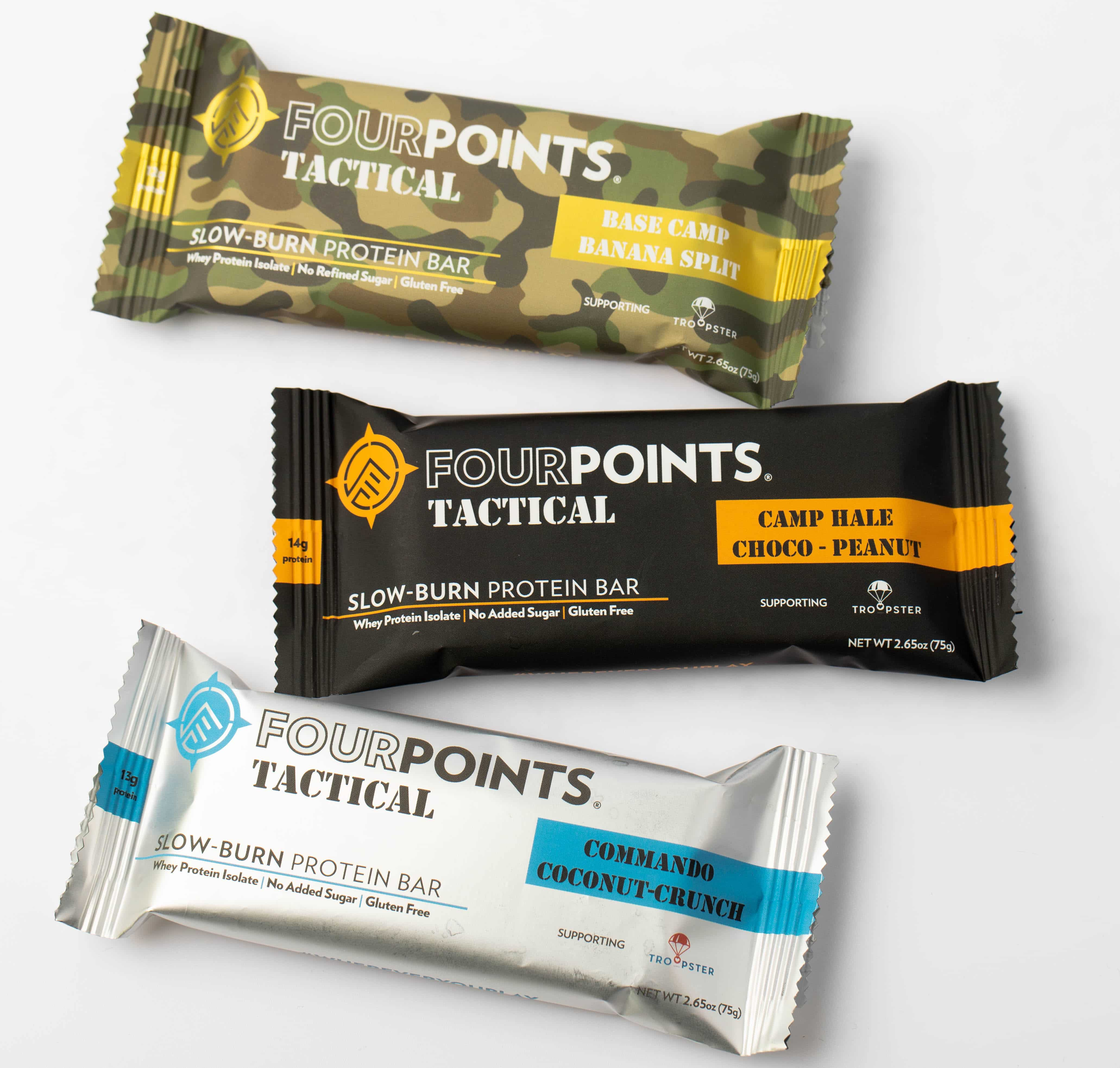 Fourpoints Introduces Tactical Protein Bars