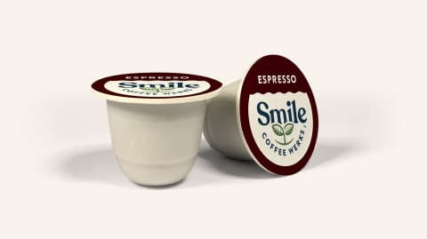 Smile Coffee Werks Launches First Commercially Compostable Coffee Pods