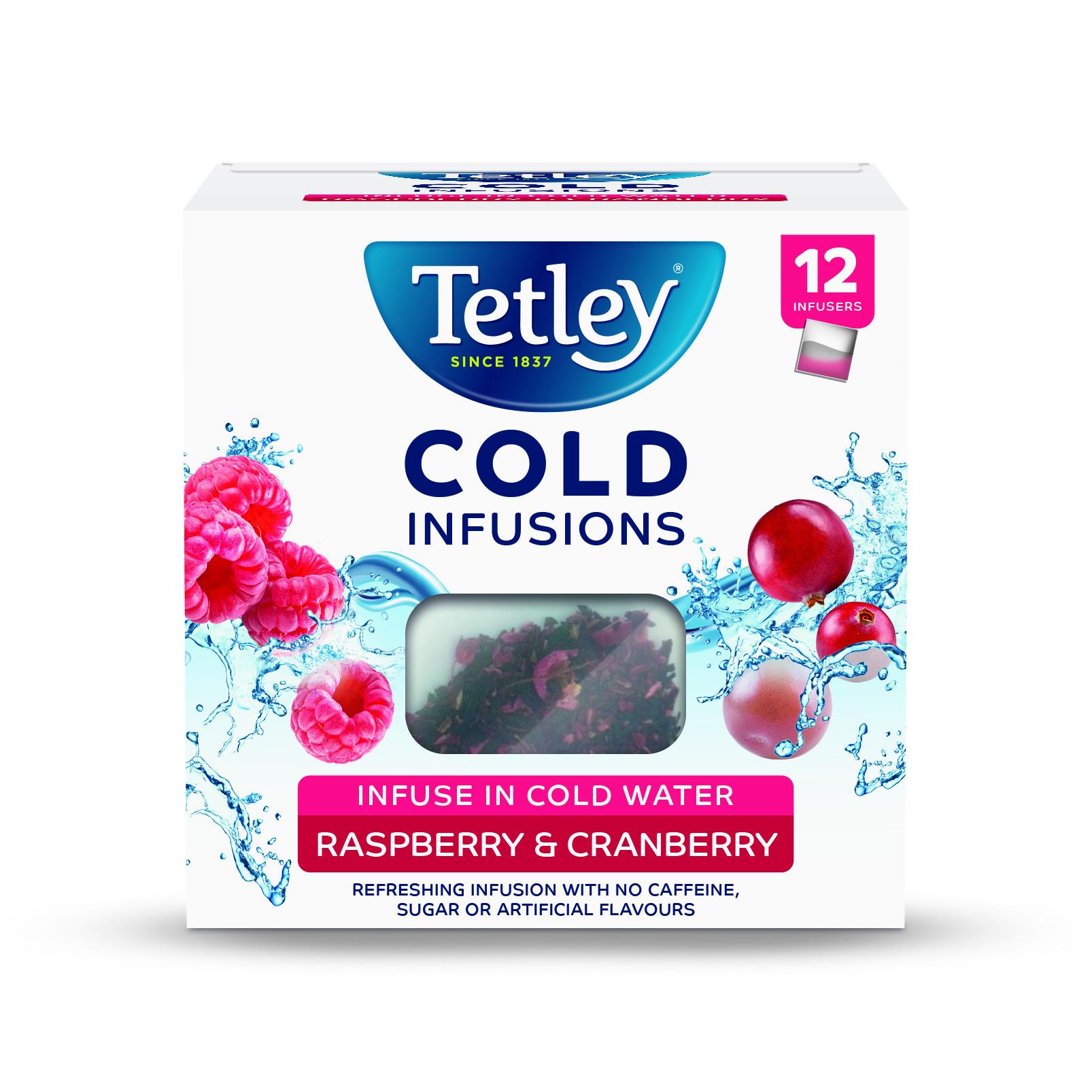 Tetley Tea Launches Tetley Herbal Infusions