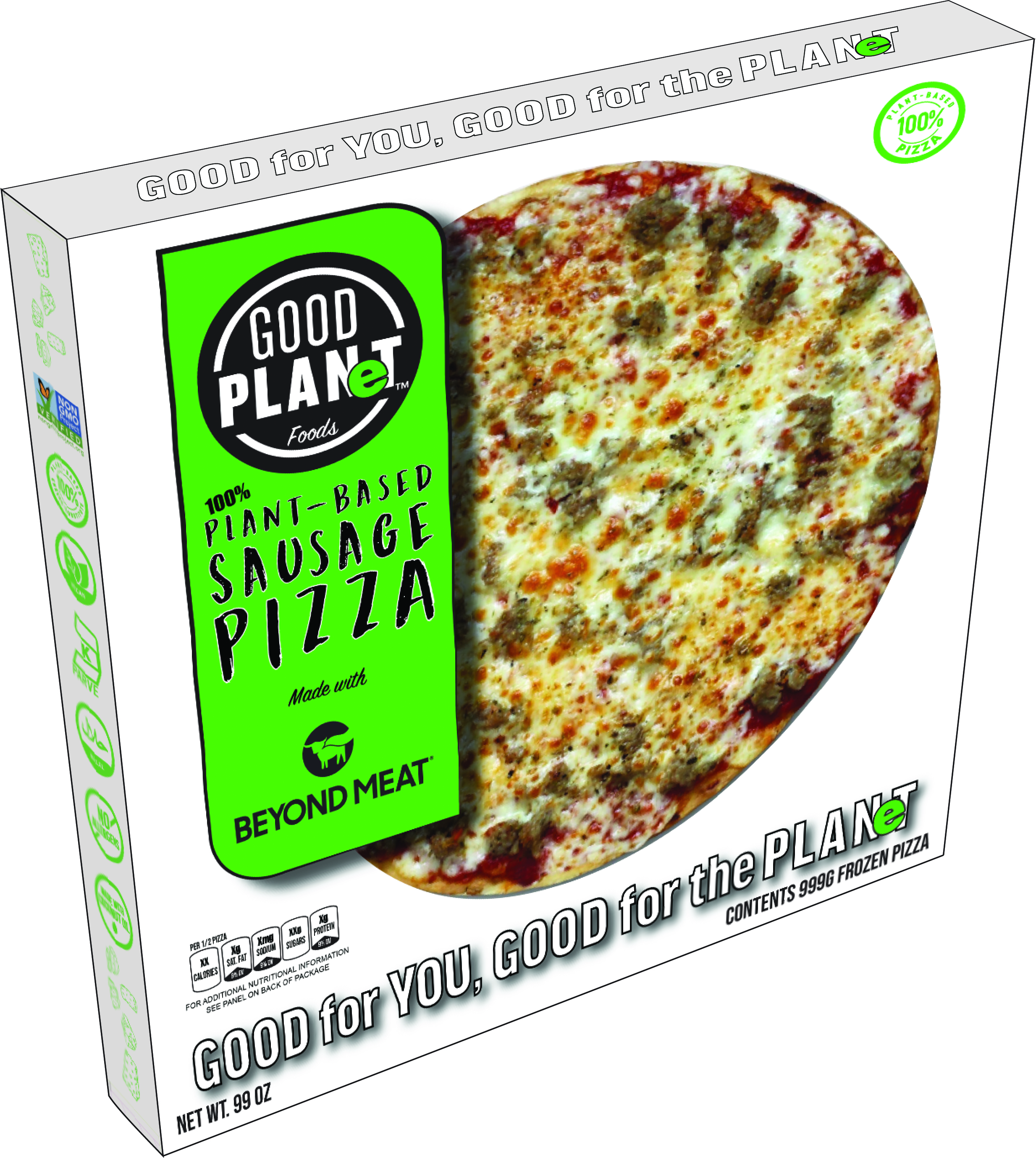 GOOD PLANeT Introduces Plant-Based Frozen Pizza Featuring Beyond Meat