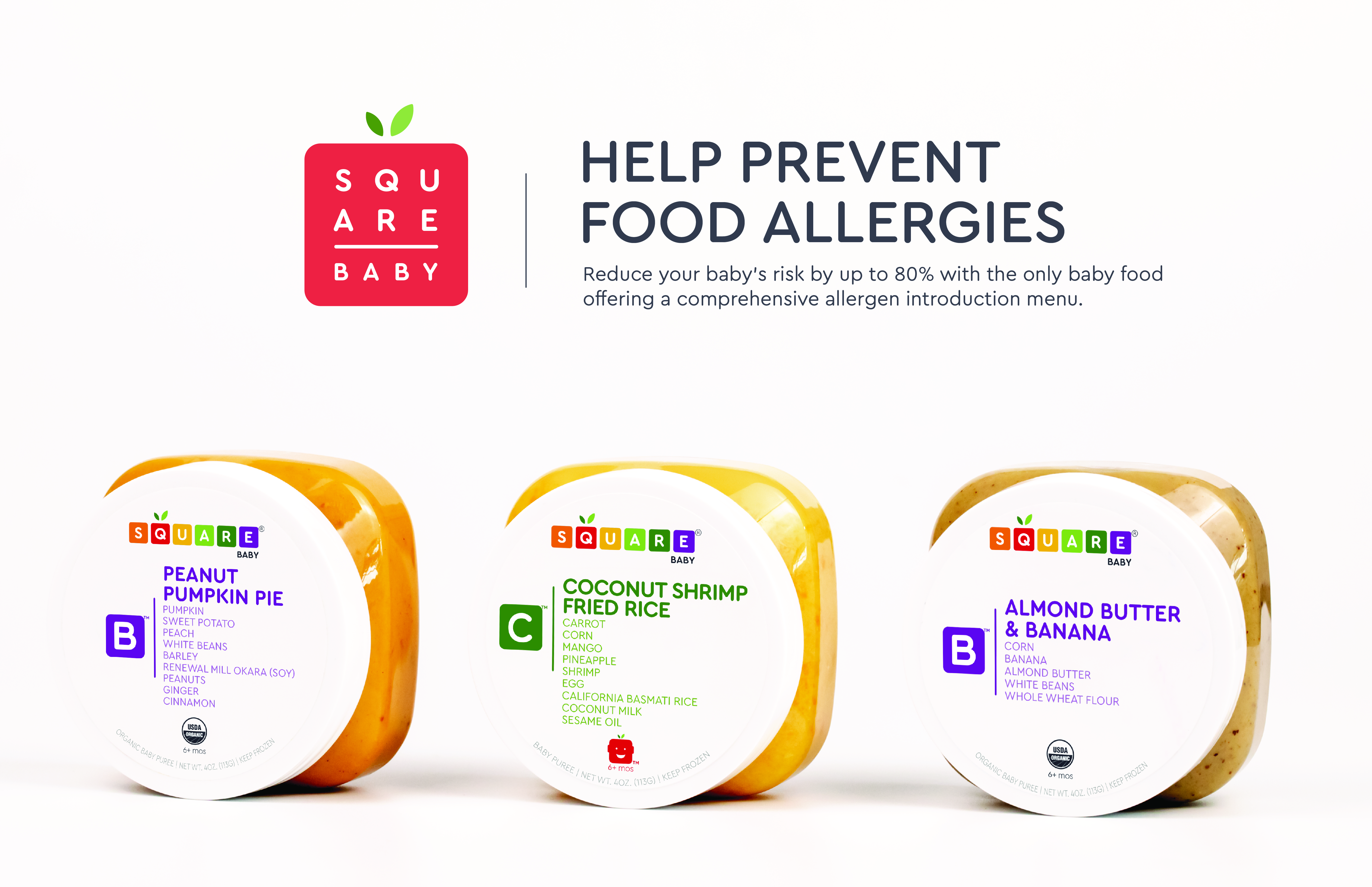 With New Launches, Square Baby Becomes Only Baby Food Offering All Top 8 Allergens