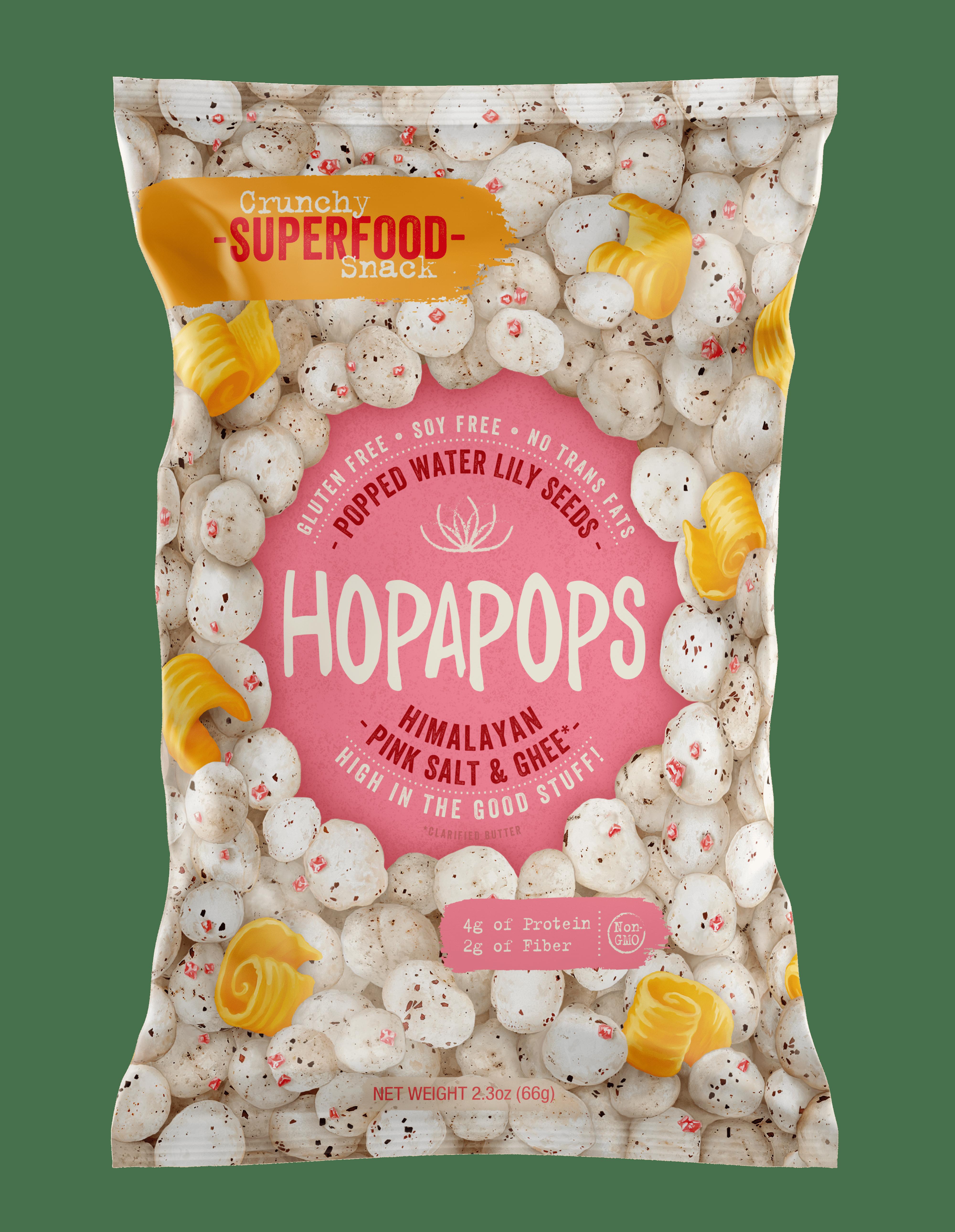 Hopapops to Debut New Flavor, Himalayan Pink Salt & Ghee