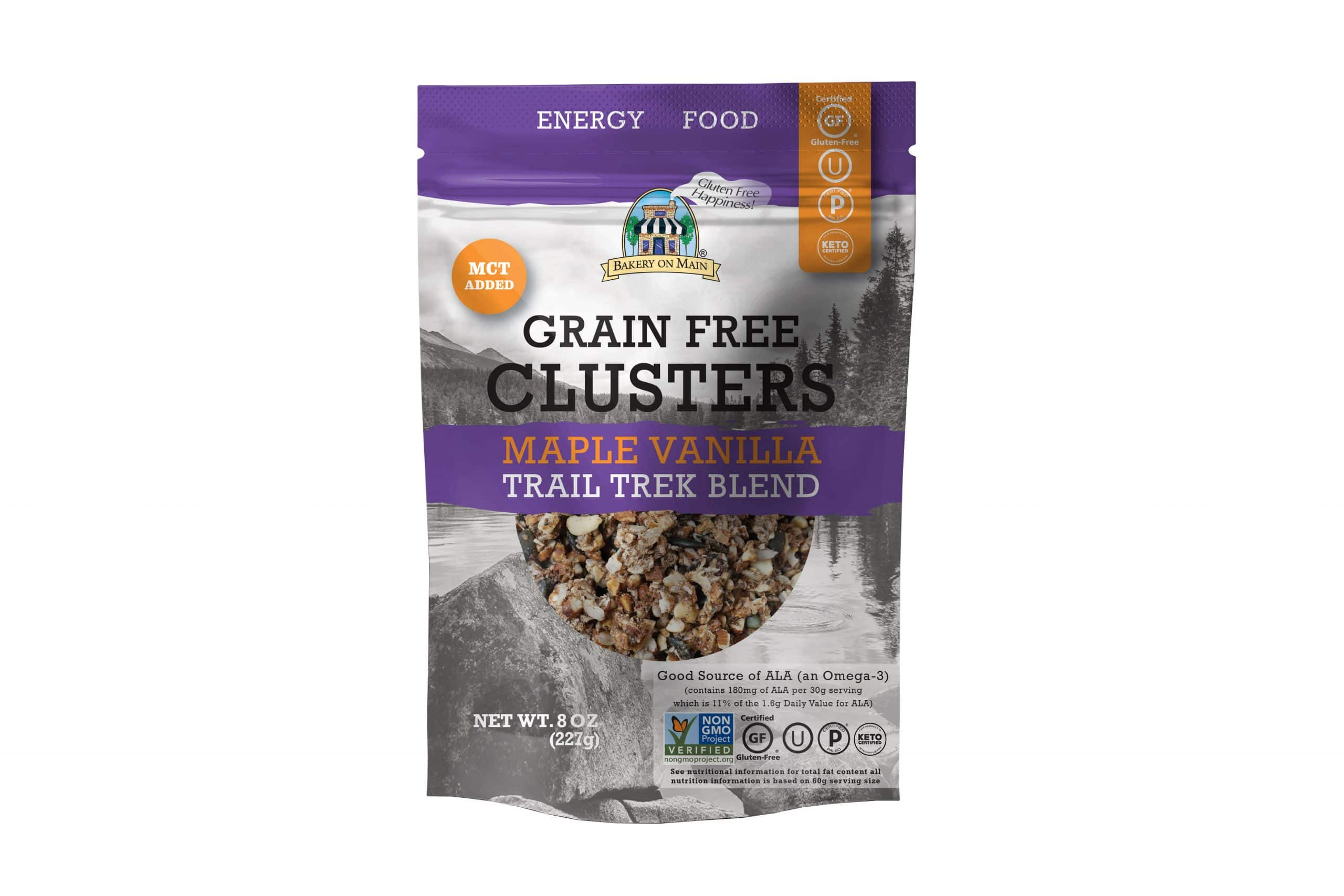 Bakery On Main Introduces New Grain Free Clusters With MCT Oil Snack Line