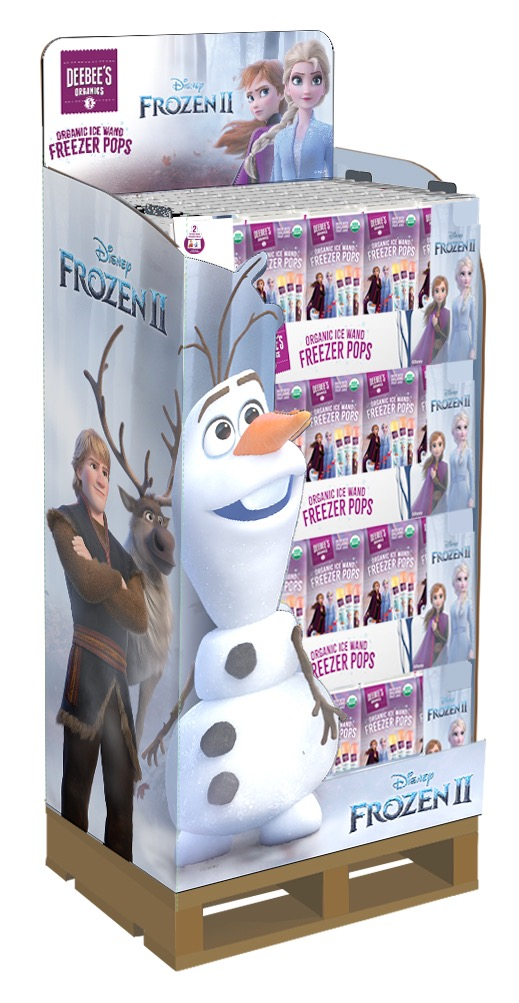 DeeBee's Organics Launches Disney's Frozen 2 Product Offering