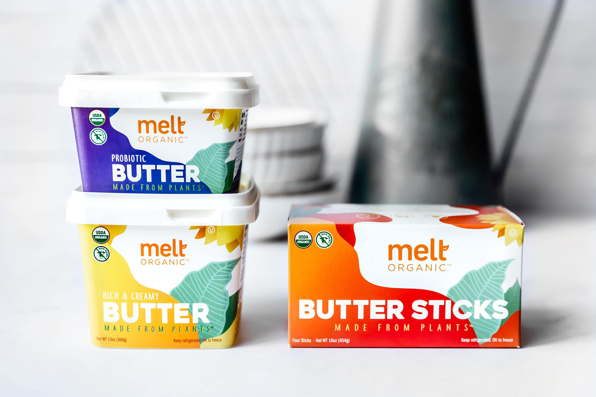 Melt Organic Unveils Unsalted Butter Sticks Made from Plants