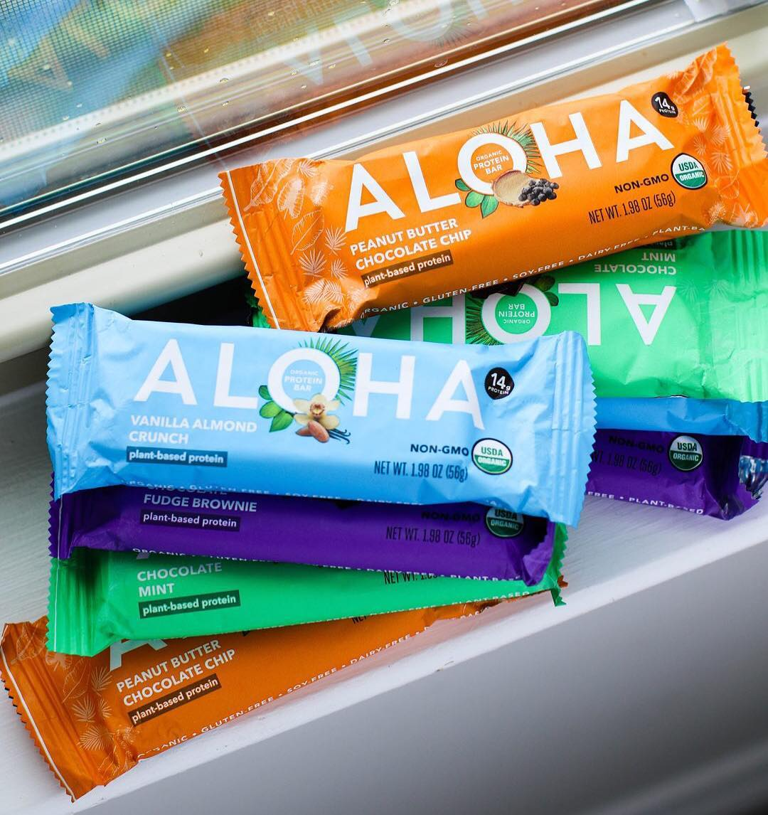 ALOHA Launches Organic Plant-Based Bars at Trader Joe's Nationwide