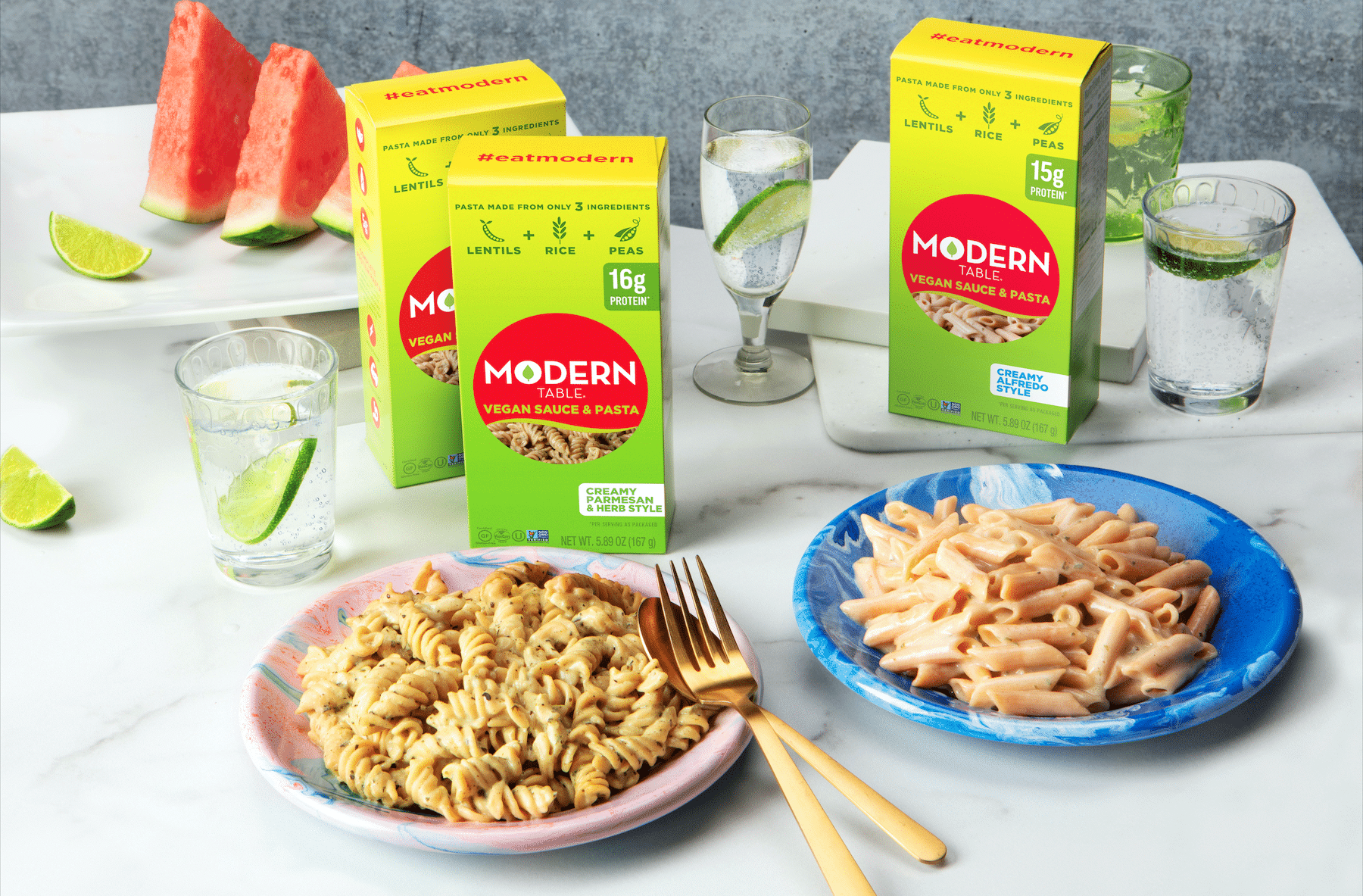 Modern Table Unveils New Line of Savory Vegan Pasta Meals