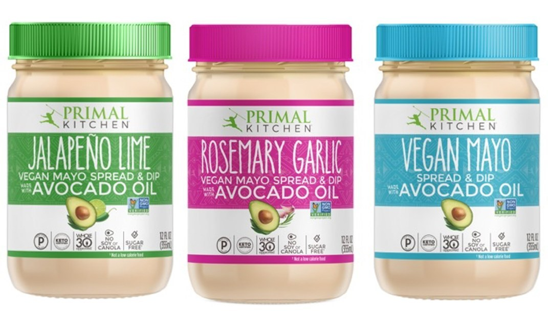 Primal Kitchen Launches New Line of Vegan Mayo Made With Avocado Oil