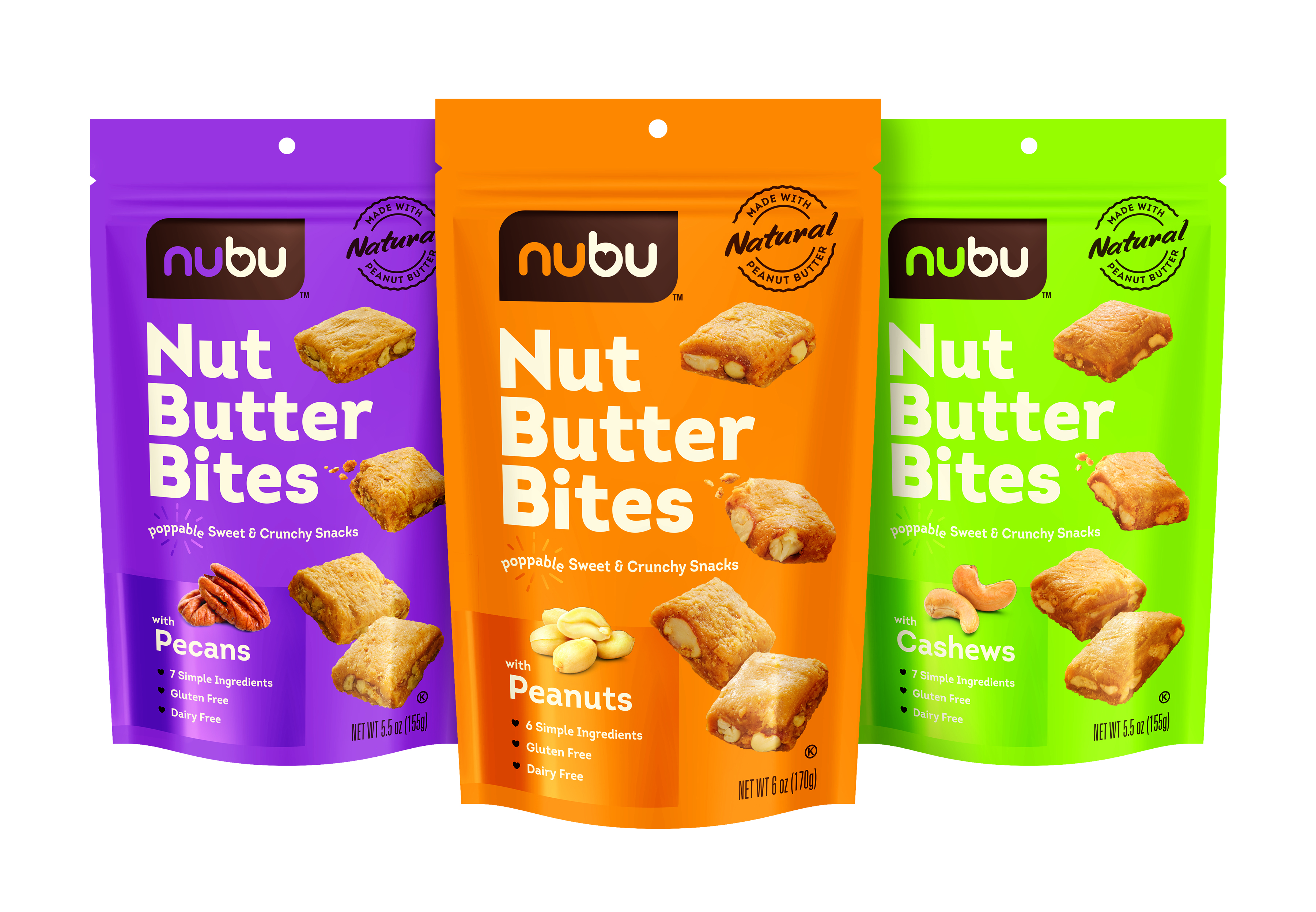 Mount Franklin Foods Launches Nubu Nut Butter Bites
