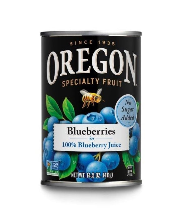 Oregon Fruit Products Debuts New Pantry Staple, Blueberries in 100% Blueberry Juice