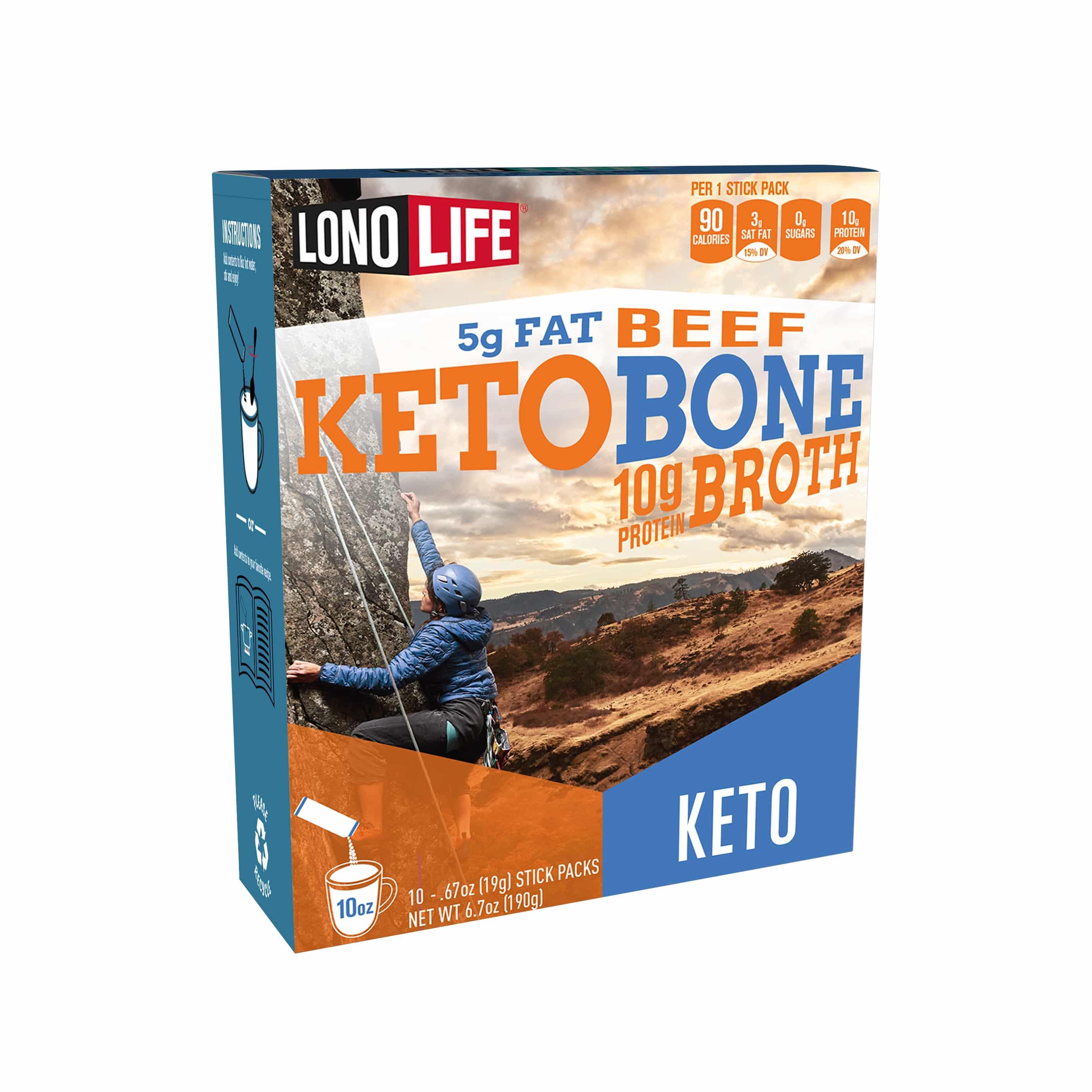 LonoLife Launches Keto Beef Bone Broth